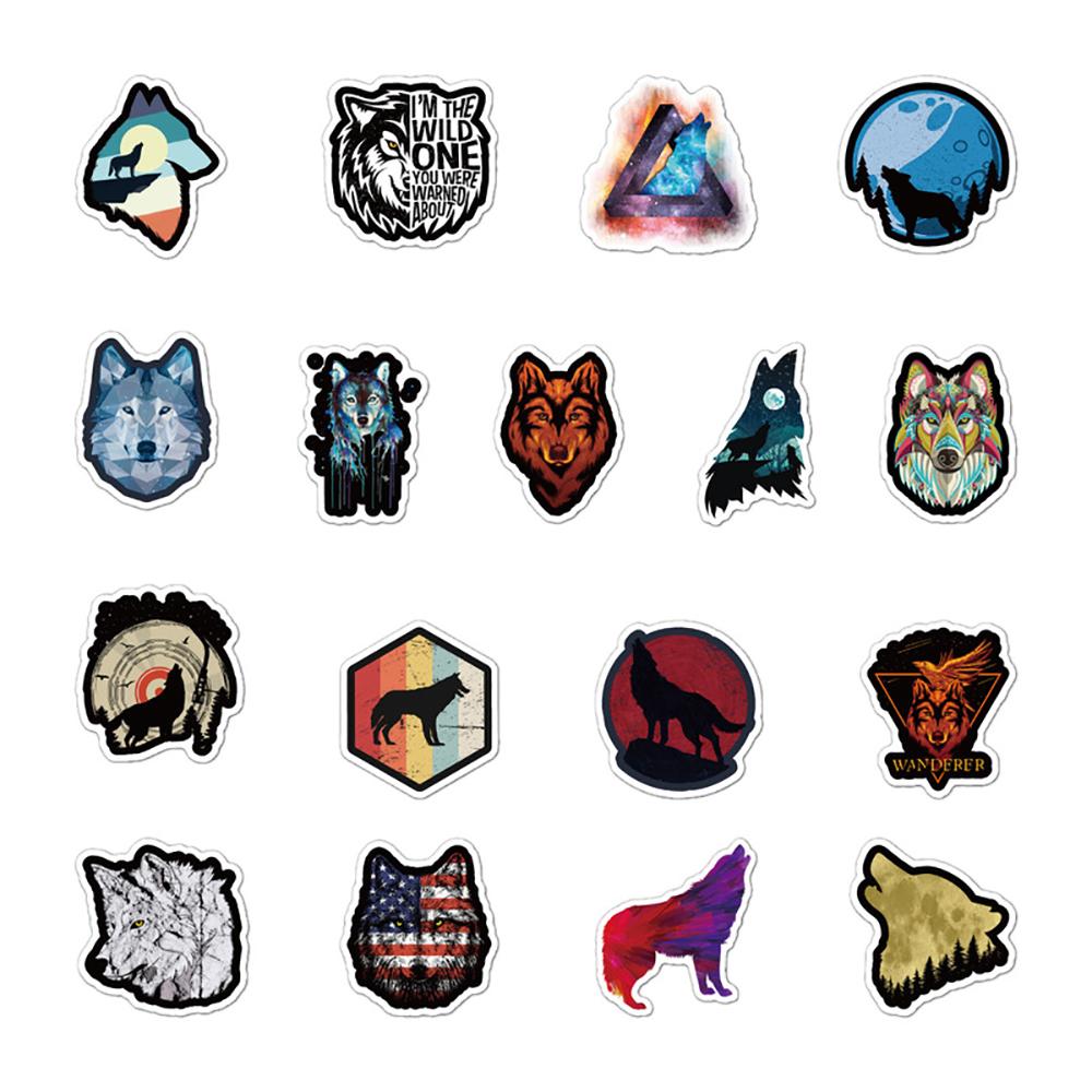 wolf stickers buy online