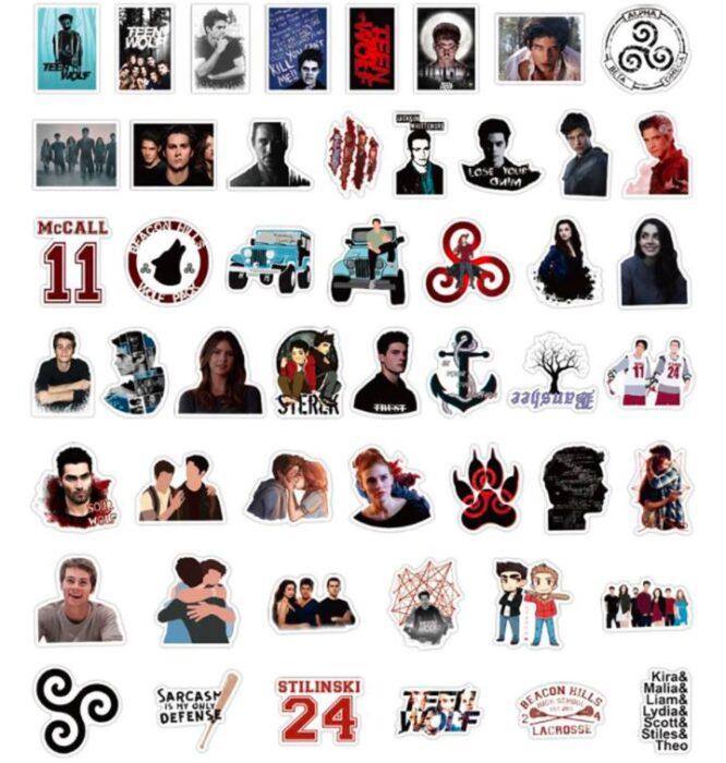 stickers teen wolf tv show buy online