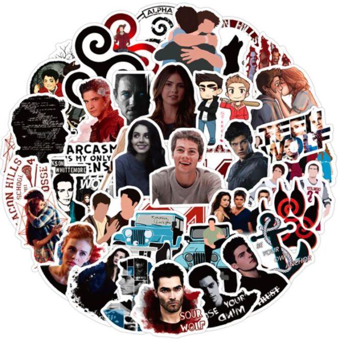 teen wolf tv show stickers buy online
