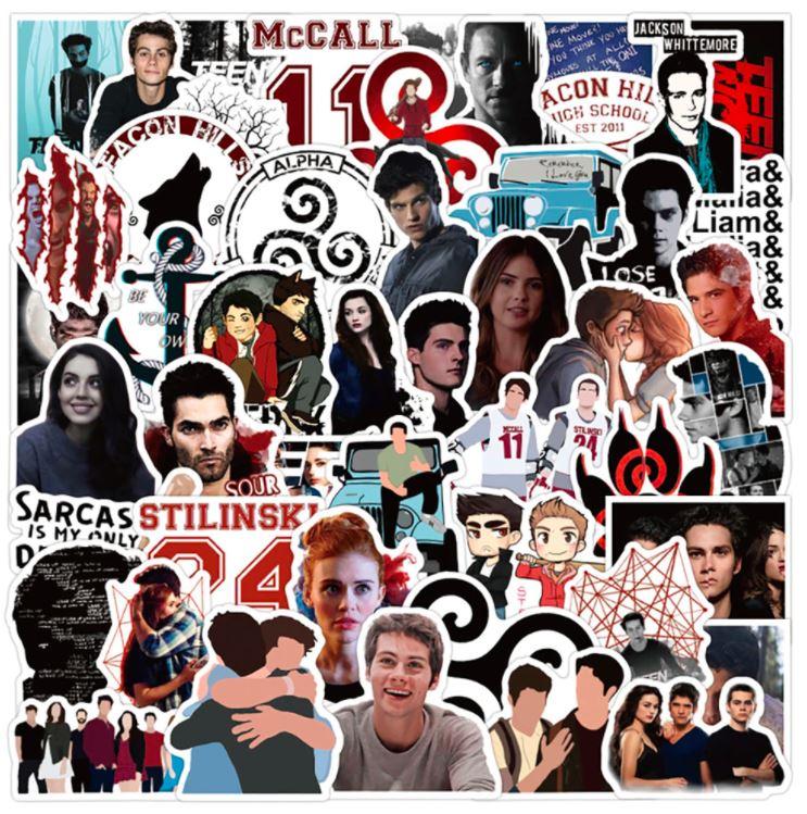 teen wolf tv show stickers